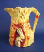 Large Burleigh Ware Art Deco 'Harvest Rabbit' Jug c1930 (Sold)